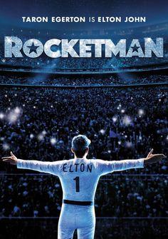 Rocketman (2019) de Dexter Fletcher . 'Rocketman' es la historia de Elton John, desde sus años como niño prodigio del piano en la Royal Academy of Music hasta llegar a ser una superestrella de fama mundial gracias a su influyente y duradera asociación con su colaborador y letrista Bernie Taupin. Man Movies, Movie Tv, Films, Rocket Man Song, Dexter, Hairspray Movie, Elton John Lyrics, Rocketman Movie, Band Posters