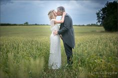 Bride and Groom, outside on their wedding day, at the HighGate house wedding venue.
