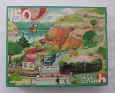 Vintage Nathan Jigsaw Puzzle - 150 pieces - Ages 7 and up - Made in France by Nathan Fernand Nathan, Puzzle Pieces, Vintage Toys, Jigsaw Puzzles, France, Games, How To Make, Poster, Painting
