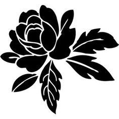 Resultado de imagen para flower silhouette