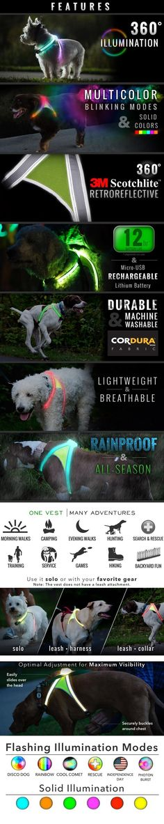 LightHound! Would love to put this on our dog while camping so we can find him when he wanders off. Would also be great for night hikes! - Tap the pin for the most adorable pawtastic fur baby apparel! You'll love the dog clothes and cat clothes! <3