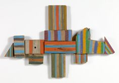 Yield, 1975 Mixed media on wood, 20 x 31 x 1 inches Signed, dated, and inscribed on verso: Yield Betty B. Found Object Art, Ceramic Decor, Abstract Sculpture, Abstract Art, Museum Of Fine Arts, Abstract Expressionism Art, Wood Art, Collage Art, Art Gallery