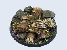 forest base 60mm round | Upcoming Micro Art Studio stuff (12th September: more redesigned bases ...