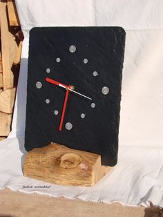 Clocks For Sale, Wooden Clock, Aga, Katana, Slate, Facebook, Ideas, Home Decor, Clock