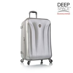 "Hey America Solara Deep Space 26"" Spinner (One Size, Silver )"