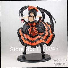 41.39$  Buy here - http://alix7t.worldwells.pw/go.php?t=1748163177 - Free Shipping Japanese Anime 1pcs figure Griffon DATE A LIVE kurumi sexy Doll 1/8 pvc 21cn color box free shipping 41.39$