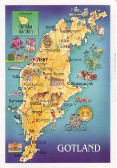 gotland sweden map - Bing Images