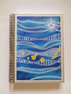 Cuaderno personalizado pintado a mano / Customized and handpainted notebook