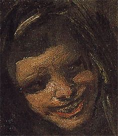 "[ Francisco de Goya | Two Women | also called ""Two Young people laughing at a man"" 