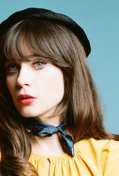 Zooey Deschanel - Bright Winter Yang Gamine