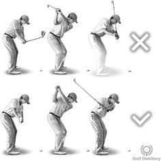 Adopt a square takeaway to help fix and over the top swing