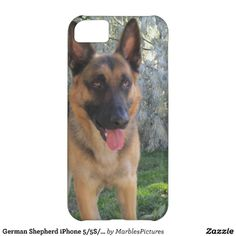 German Shepherd iPhone 5/5S/5C Case #Dogs #Pets #Canine #iPhone #Case