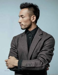 Male Fashion Trends: Hidetoshi Nakata para DAMAN Magazine Diciembre/Enero 2016