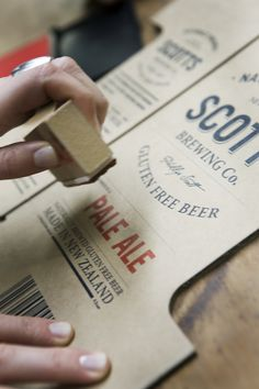 Scotts Brewing Co. by penny dombroski, via #Behance #Branding #Packaging