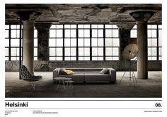 Craftelement infographie pour créateurs d'espaces | HELSINKI Helsinki, Architecture, Windows, Urban Planning, Spaces, Infographic, Landscape, Arquitetura, Architecture Illustrations