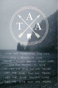 The Amity Affliction. Open Letter.