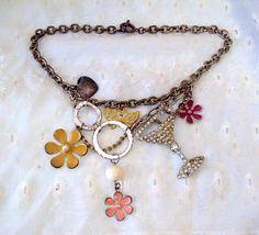 Upcycled Vintage Necklace by RetroRosiesVintage on Etsy