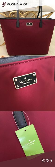c8ff7ae7640f FREE SHIPPING Kate Spade Blake Ave Tote Bag 🎀Just like and I ll send