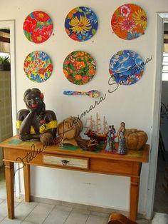 Chita Mosaic Projects, Wall Decor, Wall Art, Handmade Home, Plates On Wall, Boho Decor, Decoration, Decorative Items, Decoupage