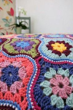 This beautiful and unusual blanket has been created by Jane Crowfoot, who also designed the fabulous Persian Tiles Blanket and the exquisite Lily Pond throw. The pattern for Mystical Lantern is available to purchase separately. Like Persian Tiles, this beautiful design has been inspired by Jane's fascination with the tessellating shapes found in Moroccan architecture and design, and this stunning afghan certainly has a dream-like quality about it, with hints of the Arabian Nights. Created…