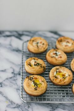 caramelized onion tartlets | Wit & Delight