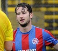 Jonas Schneider als Einwechselspieler gegen Hilden.