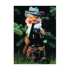 Zwerg als Förster, 33cm groß: Amazon.de: Garten, Gartenzwerg, Zwerg, Gnom, Gartenfigur, Gartendeko, Märchen, Sieben Zwerge, dwarf, garden gnome, Dekoration,