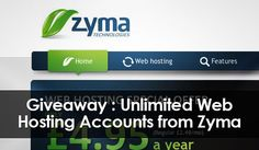 Zyma hosting giveaway :Getting a goodhosting plan nowadays has become very difficult and with the increasein number of hosting service providers it becomes all the more difficult to choose from them. Of all the new hosting companies out there a company has risen up to show that it too has a cutting edge, its name is Zyma, participate in Zyma hosting giveaway, read further to know more. Zyma hosting is doing a very good job of providing new people with hosting at affordable rates as well…