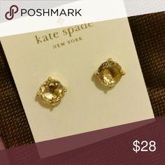 Kate Spade Pretzel Earrings Nwt Pretzels