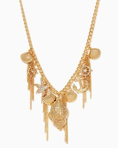 charming charlie | Shimmering Sea Strands Necklace | UPC: 450900471248 #charmingcharlie