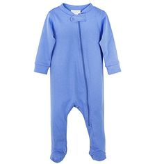 Feather Baby Boys Clothes Pima Cotton Long Sleeve Zipper Sleep N Play Footie Coverall Romper >>> You can get additional details at the image link.Note:It is affiliate link to Amazon.