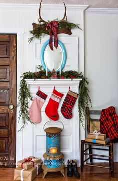 Far Above Rubies: Cottage Christmas Mantel and a blog hop