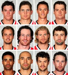 pt 2 - 2013 Blackhawks, guess we're going w/ the scruffy look this year!