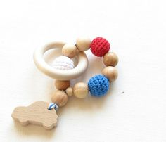 Baby teether toy / Teething ring / Baby shower gift