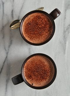 Hot cashew chocolate