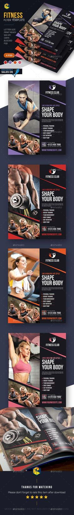 Fitness Flyer Template: