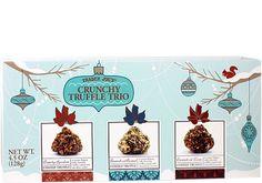 Trader Joe's Crunchy Truffle Trio $2.99 | #TraderJoes  #Truffle #chocolate