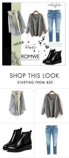 """""""Romwe Contest"""" by makethislastforever ❤ liked on Polyvore featuring Wrap and Frame Denim"""