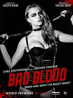 """Ranking The Characters In Taylor Swift's """"Bad Blood"""" Music Video By Fierceness (BuzzFeed)"""