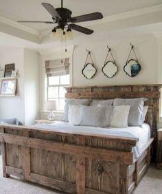 Best farmhouse style bedroom design ideas (35)