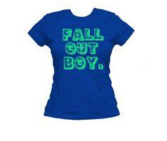 Fall Out Boy T-Shirt Women's t-shirts Music t-shirts Band tees. Fall out boy merch Blink 182. Rock tshirts Fallout Shirts Fallout Girls tees by SoundAtlas on Etsy https://www.etsy.com/listing/276988188/fall-out-boy-t-shirt-womens-t-shirts