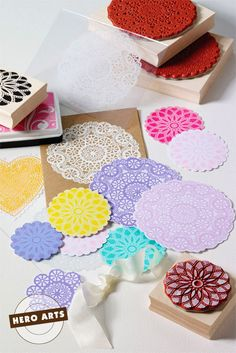 Hey, I found this really awesome Etsy listing at https://www.etsy.com/es/listing/152559572/circle-lace-doily-rubber-stamp-woodblock