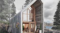 Tolles Design und überschaubare Kosten – dieses Haus wurde vom Ikea-Prinzip inspiriert. Die Hütte kann ohne große Maschinen von Heimwerkern aufgebaut werden.
