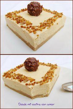 desde mi cocina con amor: TARTA MOUSSE DE TURRÓN. Aconsejo comerla muy, muy fria.