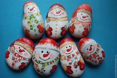 Купить Снеговики,Божьи коровки ,цветы,пчелки - недорогой сувенир, ручная работа, оригинальный подарок