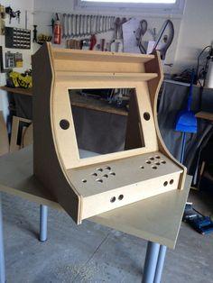 2 Player Bartop Arcade Machine Powered By Pi Plansarcade Cabinet