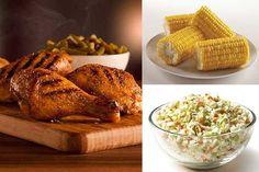 KFC http://www.menshealth.com/nutrition/best-fast-food-meals-for-men/slide/8