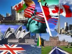 english speaking countries pictures - Google Search