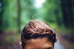 braid back the bangs