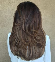 Fabulous Ideas: Feathered Hairstyles For Over 50 asymmetrical hairstyles ombre.Black Women Hairstyles With Bangs women hairstyles color long pixie.Women Hairstyles Over 50 Jane Fonda. Long Layered Haircuts, Asymmetrical Hairstyles, Layered Hairstyles, Haircuts For Long Hair With Layers, Cute Hair Cuts Long, Haircuts For Girls, Childrens Hairstyles, Toddler Hairstyles, Popular Haircuts